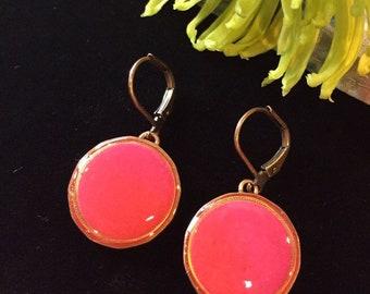 Copper Penny Earrings