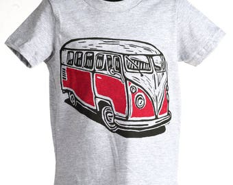 Van on Heather Grey Toddler T Shirt 2T 3T 4T 5/6T