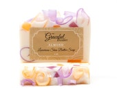 ALMOND GLYCERIN SOAP | Shea | Mango | Cocoa | The Graceful Rabbit