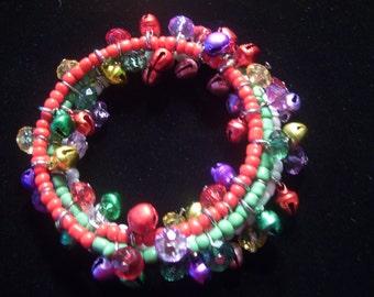 Gypsy Bell Beaded Bracelet