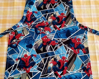 Child's Spider-Man In The City Apron