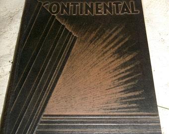 LA Washington High School Yearbook Continental 1935