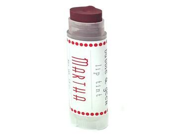 """Tinted Lip Balm - """"Martha"""" - Lip Tint - Chai Tea flavor"""