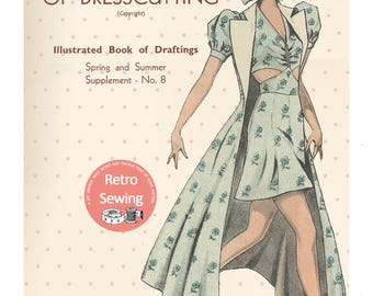 The Haslam System of Dresscutting No. 8 Spring and Summer 1930's - PDF Booklet Instant Download