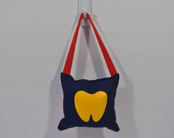 Tooth Fairy Pillow - Yellow Tooth