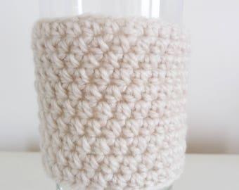 Crochet Cup Cozy, Mug Warmer, Coffee Cup Sleeve, Eco-friendly, Reusable Cup Sleeve, Coffee Gift, Tea Cozy, Tea Cup Cozy