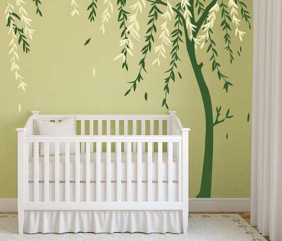 Colorful Tree Wall Decor For Nursery Image - Wall Art Design ...