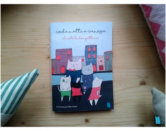 Codematte in Venice, a comic that tells an adventure of Gattacci during Christmas