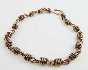Copper Bracelet Men Women - Prima Donna Beads
