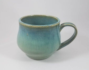 Aqua Belly Mug