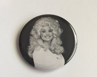 Dolly Parton Pinback Button