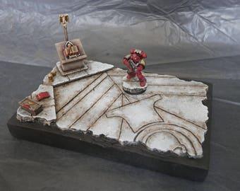 Blood Raven Diorama