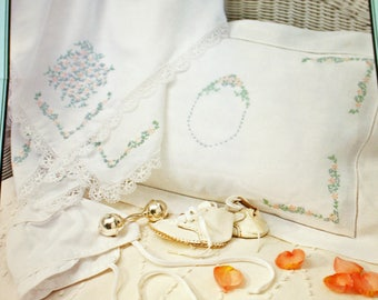 Sweet Dreams, The Heirloom Embroidery Collection, by Ellen Moore Johnson, Iron-On Embroidery Designs, OLD2NEWMEMORIES