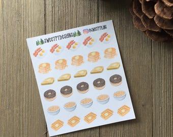 Breakfast Planner Stickers
