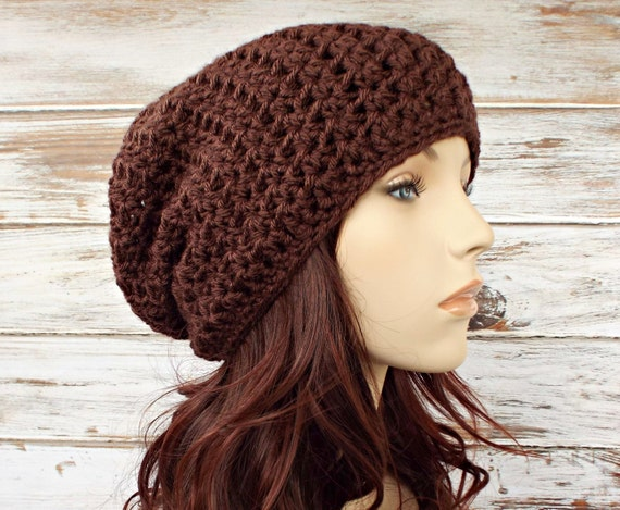 Instant Download Crochet Pattern - Hat Crochet Pattern - Crochet Hat Pattern for Memphis Slouchy Beanie Hat - Womens Hat Womens Accessories