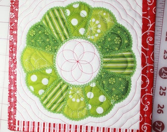 Table topper / candle mat