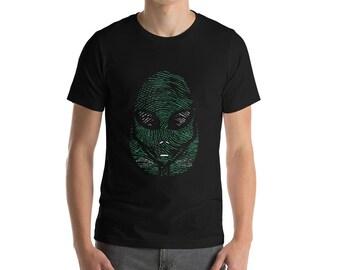 Genealogy UFO DNA Alien Shirt Funny Birthday Ancestry Men & Women's Gift Idea T-Shirt