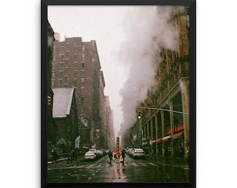 Framed Wall Art - 'A Feeling Called New York' - Real Photography | premium photo print urban wall decor