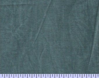 New Aged Muslin from Marcus Fabrics - Full or Half Yard Teal Distressed Parchment Look Blender - 9677
