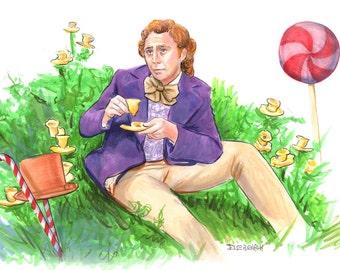 Willy Wonka Print