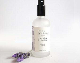 Organic Lavender Toning Mist