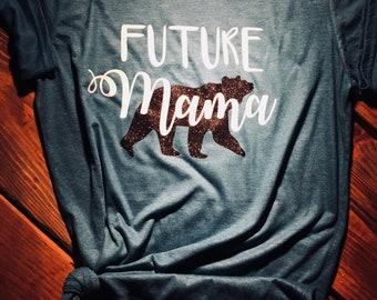 Future Mama, preggo mama, mom to be gift ideas, expecting moms shirt, pregnant mom shirt,pregnant mama, soon to be mom tshirts, future momma