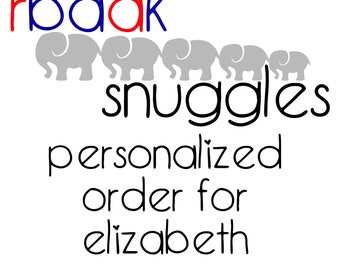 Personalized order made just for you!
