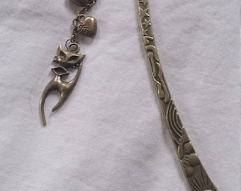 Antique Bronze Large Bookmark