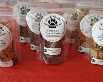 Hand crafted wheat free, healthy Dog Treats (5 oz Bag)