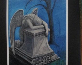 Angel of Grief (print)