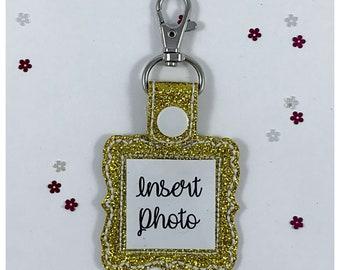 Photo Picture Display Keyring / Keychain / Key Fob / Key Chain