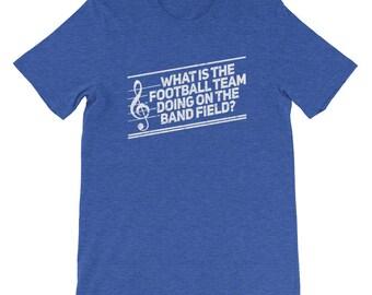 Marching Band Shirt | Marching Band Gift Music Shirt Musician Gift Shredded Band Shirt Shredded Band tShirt Music Lover t-Shirt Band Teacher