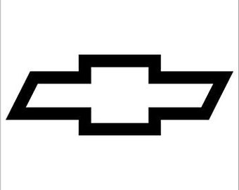 Chevy Bowtie Logo vinyl decal - For Cars, Laptops, Sticker, Mirrors, etc.