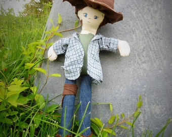 TWD carl grimes inspired doll