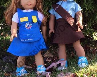 Custom Scout uniform for dolls