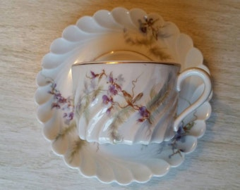 Haviland Orsay Teacup & Saucer set