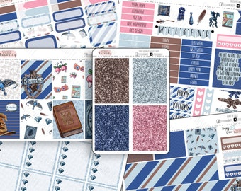 House of Eagles: planner stickers, Erin Condren, eclp, sew much crafting, Annie Plans Printables, 1407 planners, weekly kit