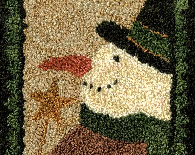 Pattern: Snowman Punch Needle by Teresa Kogut
