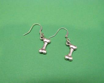 Dog Bone Earrings