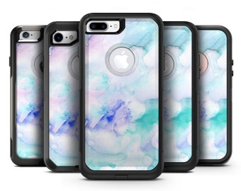 Mint 9 Absorbed Watercolor Texture - OtterBox Case Skin-Kit for the iPhone, Galaxy & More