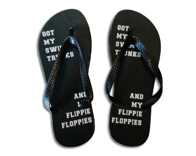 On A Boat Flip Flops