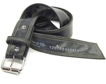 Upcycled inner tube belt