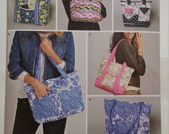 Simplicity Sewing Pattern 8310 Quilted Bags in Three Sizes New Pattern