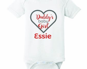 Daddy's Girl Onesie