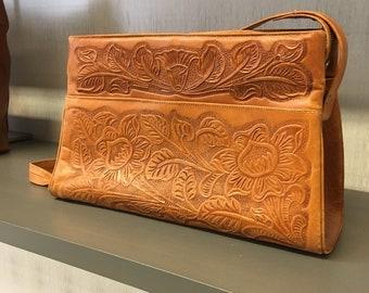 Avelar Tooled Leather Bag