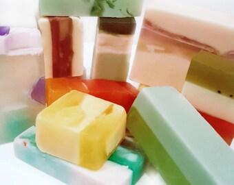 Organic Soap Samples / Odds & Ends / Super Soft Skin / Gluten Free!