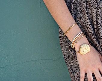 40% Off Sale Bronze Coral Cuff | Bronze Cuff | Statement Cuff
