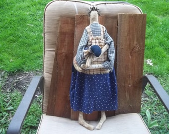 Primitive Americana doll 27""