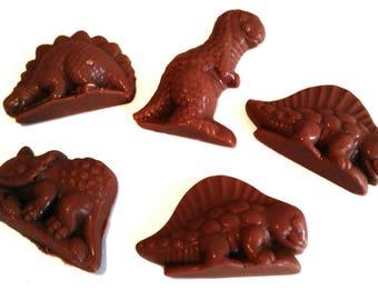 Dairy Free Chocolate Dinosaurs