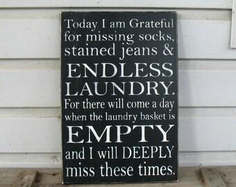Endless Laundry Sign - Laundry Room Art